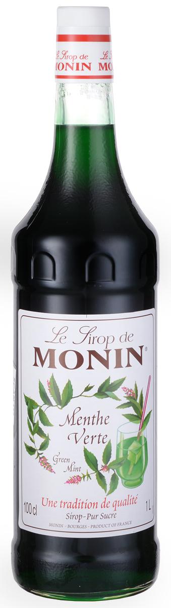 Monin Зеленая Мята сироп, 1 л0120710Мята - ароматическое и приятное зеленое растение. Его охлаждающая свежесть делает мяту одним из самых ценных и используемых трав в кулинарии, а также в кондитерских изделиях. Сироп Monin Зеленая мята идеально подходит, чтобы дать прохладу мятного вкуса в некоторые напитки, особенно в сочетании с шоколадным вкусом.ВКУСИнтенсивный и острый запах мяты, очень освежающий мятный аромат дает вам свежие ощущения во рту.ПРИМЕНЕНИЕ Коктейли, газированные напитки, лимонады, фруктовые пунши, коктейли, чай. Сиропы Monin выпускает одноименная французская марка, которая известна как лидирующий производитель алкогольных и безалкогольных сиропов в мире. В 1912 году во французском городке Бурже девятнадцатилетний предприниматель Джордж Монин основал собственную компанию, которая специализировалась на производстве вин, ликеров и сиропов. Место для завода было выбрано не случайно: город Бурже находился в непосредственной близости от крупных сельскохозяйственных районов - главных поставщиков свежих ягод и фруктов.Производство сиропов стало ключевым направлением деятельности компании Monin только в 1945 году, когда пост главы предприятия занял потомок основателя - Пол Монин. Именно под его руководством ассортимент марки пополнился разнообразными сиропами из натуральных ингредиентов, которые молниеносно заслужили блестящую репутацию в кругу поклонников кофейных напитков и коктейлей. По сей день высокое качество остается базовым принципом деятельности французской марки. Сиропы Монин создаются исключительно из натуральных ингредиентов по уникальным технологиям, позволяющим сохранять в готовом продукте все полезные свойства природного сырья. Эксперты всего мира сходятся во мнении, что сиропы Monin - это законодатели мод в миксологии. Ассортимент французской марки на сегодняшний день является самым широким и насчитывает полторы сотни уникальных вкусовых решений. В каталоге компании можно найти как классические вкусы для кофейных напитков (шоколадный, ваниль
