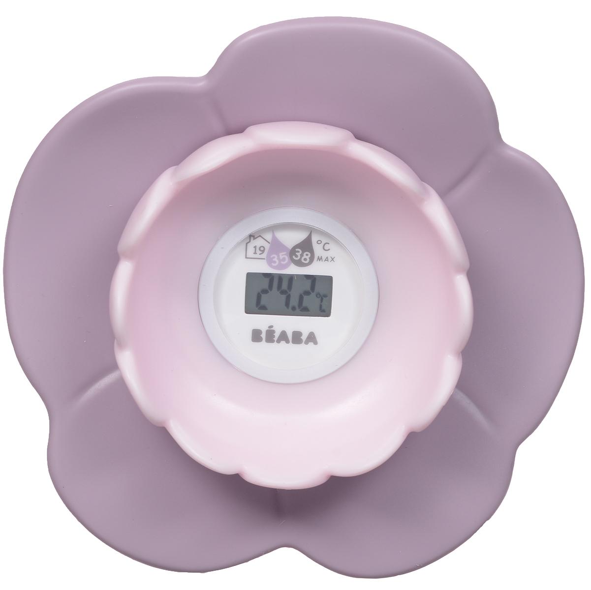 """Цифровой термометр для ванны и комнаты """"Lotus"""" позволяет определить температуру воды, обеспечивающую комфортное купание ребенка. Термометр, выполненный в виде лотоса, показывает точную температуру воды в ванне или температуру воздуха в помещении. Дизайн термометра позволяет ему с легкостью держаться на воде. Такой термометр незаменим для заботливых мамочек, а также он станет прекрасной игрушкой для малыша во время купания."""