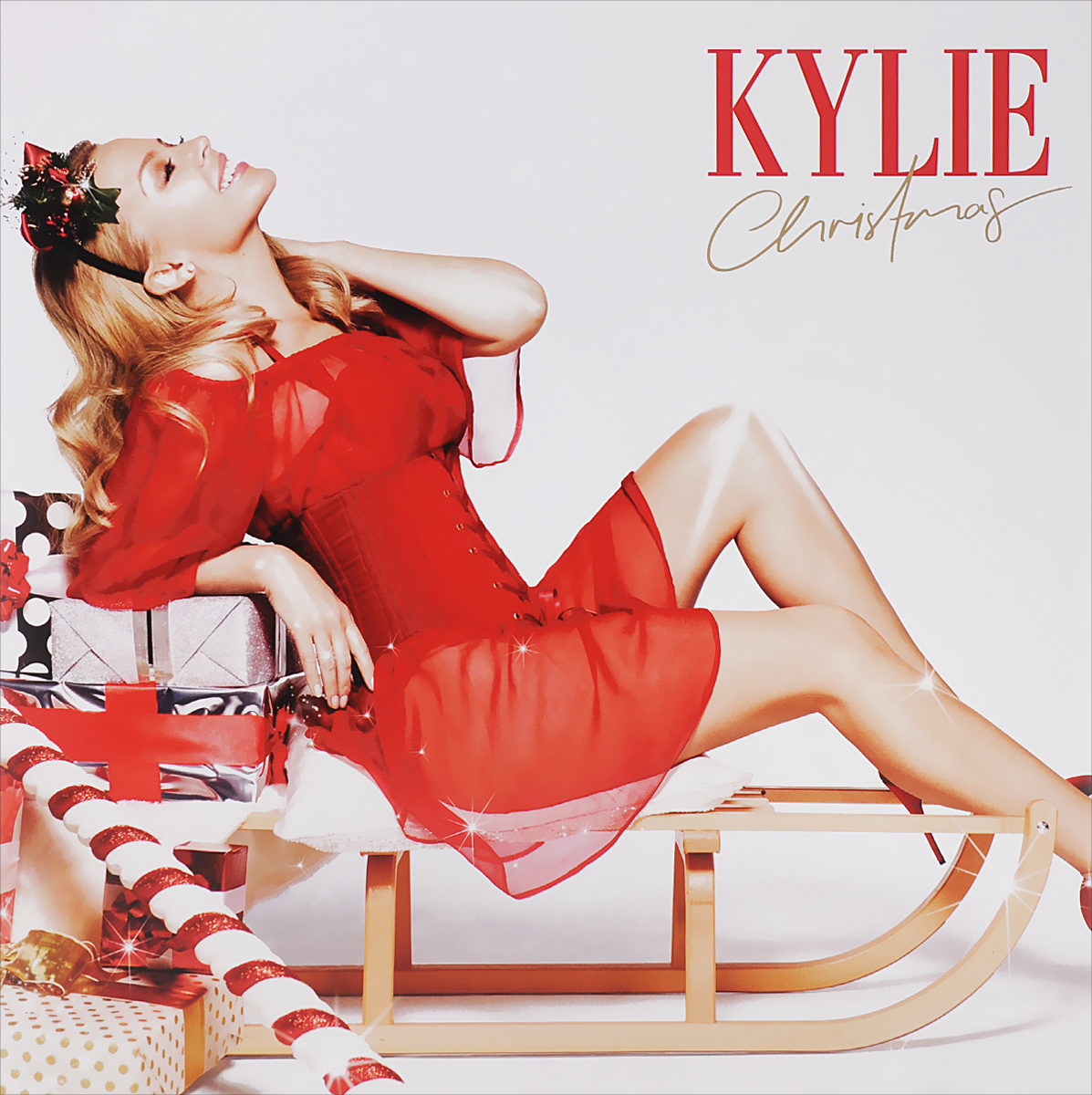 Kylie Kylie. Christmas (LP) кремы shemen amour крем shemen amour дневной увлажняющий с коллагеном 50 мл