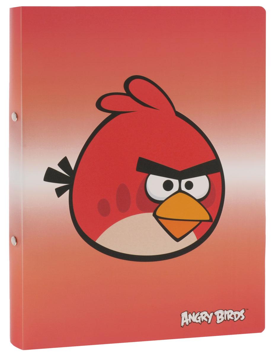 Centrum Папка на кольцах Angry Birds цвет красный84698_красныйПапка на кольцах Centrum Angry Birds предназначена для хранения и транспортировки бумаг или документов формата А4. Папка изготовлена из плотного пластика и оформлена изображением персонажа всеми любимой игры Angry Birds.Кольцевой механизм выполнен из высококачественного металла.