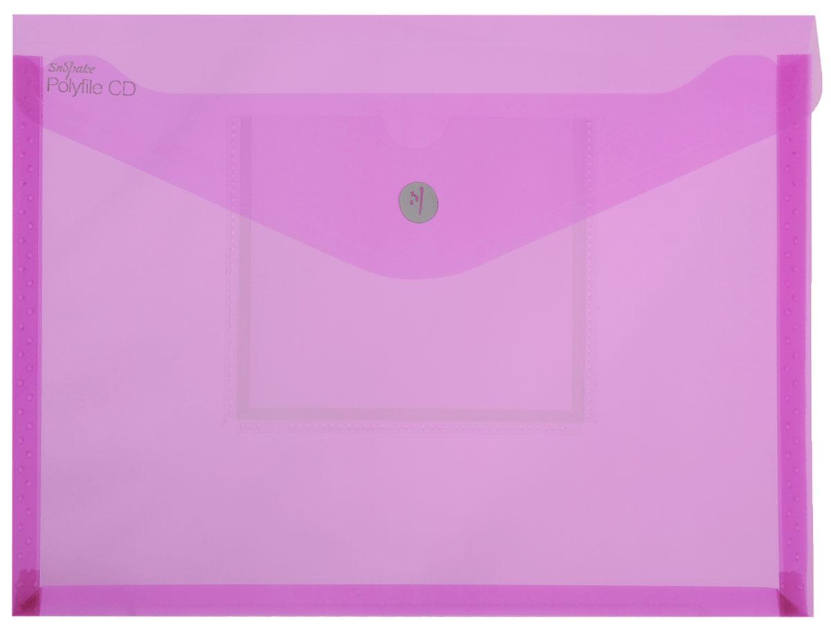 Snopake Папка-конверт Electra на липучке с карманом для CD цвет розовыйFS-54100Папка-конверт на липучке Snopake Electra - это удобный и функциональныйофисный инструмент, предназначенный для хранения и транспортировки рабочихбумаг и документов формата А4. Папка позволит хранить печатную и электроннуюкопии информации в одном месте. Вмещает до 300 листов стандартной плотности.Папка изготовлена из износостойкого полупрозрачного полипропилена,закрывается клапаном на липучке. Папка имеет специальную вырубку,облегчающую изъятие документов. На лицевой стороне под клапаном расположенпрозрачный кармашек для CD диска в бумажном конверте или пластиковом кейсе.Папка-конверт - это незаменимый атрибут для студента, школьника, офисногоработника. Такая папка надежно сохранит ваши документы и сбережет их отповреждений, пыли и влаги. Папка сочетает в себе неизменно высокое качествоSnopake и яркие цвета серии Electra.