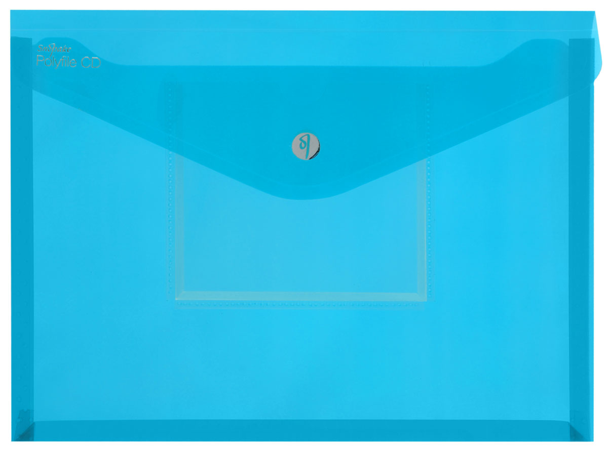 Snopake Папка-конверт Electra на липучке с карманом для CD цвет бирюзовый80611 черныйПапка-конверт на липучке Snopake Electra - это удобный и функциональныйофисный инструмент, предназначенный для хранения и транспортировки рабочихбумаг и документов формата А4. Папка позволит хранить печатную и электроннуюкопии информации в одном месте. Вмещает до 300 листов стандартной плотности.Папка изготовлена из износостойкого полупрозрачного полипропилена,закрывается клапаном на липучке. Папка имеет специальную вырубку,облегчающую изъятие документов. На лицевой стороне под клапаном расположенпрозрачный кармашек для CD диска в бумажном конверте или пластиковом кейсе.Папка-конверт - это незаменимый атрибут для студента, школьника, офисногоработника. Такая папка надежно сохранит ваши документы и сбережет их отповреждений, пыли и влаги. Папка сочетает в себе неизменно высокое качествоSnopake и яркие цвета серии Electra.