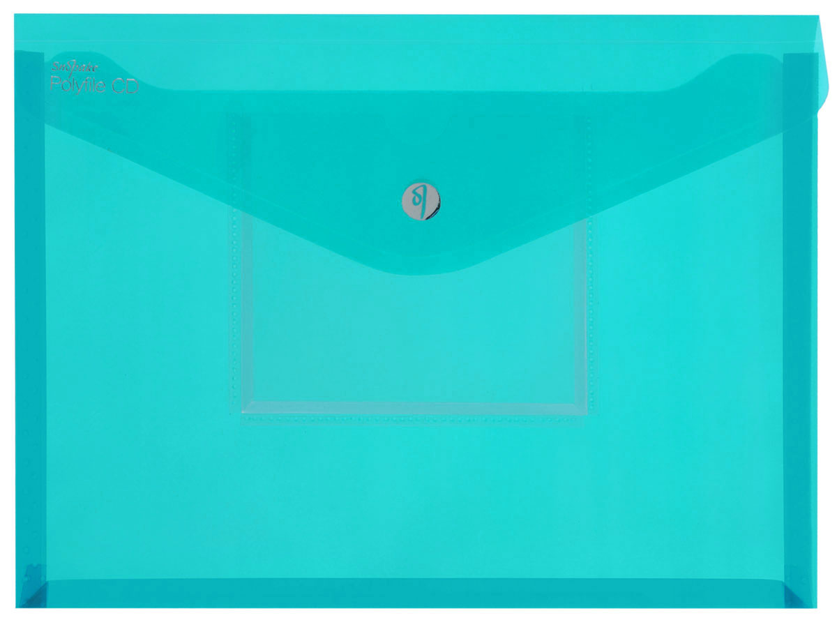 Snopake Папка-конверт Electra на липучке с карманом для CD цвет зеленыйFS-36052Папка-конверт на липучке Snopake Electra - это удобный и функциональныйофисный инструмент, предназначенный для хранения и транспортировки рабочихбумаг и документов формата А4. Папка позволит хранить печатную и электроннуюкопии информации в одном месте. Вмещает до 300 листов стандартной плотности.Папка изготовлена из износостойкого полупрозрачного полипропилена,закрывается клапаном на липучке. Папка имеет специальную вырубку,облегчающую изъятие документов. На лицевой стороне под клапаном расположенпрозрачный кармашек для CD диска в бумажном конверте или пластиковом кейсе.Папка-конверт - это незаменимый атрибут для студента, школьника, офисногоработника. Такая папка надежно сохранит ваши документы и сбережет их отповреждений, пыли и влаги. Папка сочетает в себе неизменно высокое качествоSnopake и яркие цвета серии Electra.
