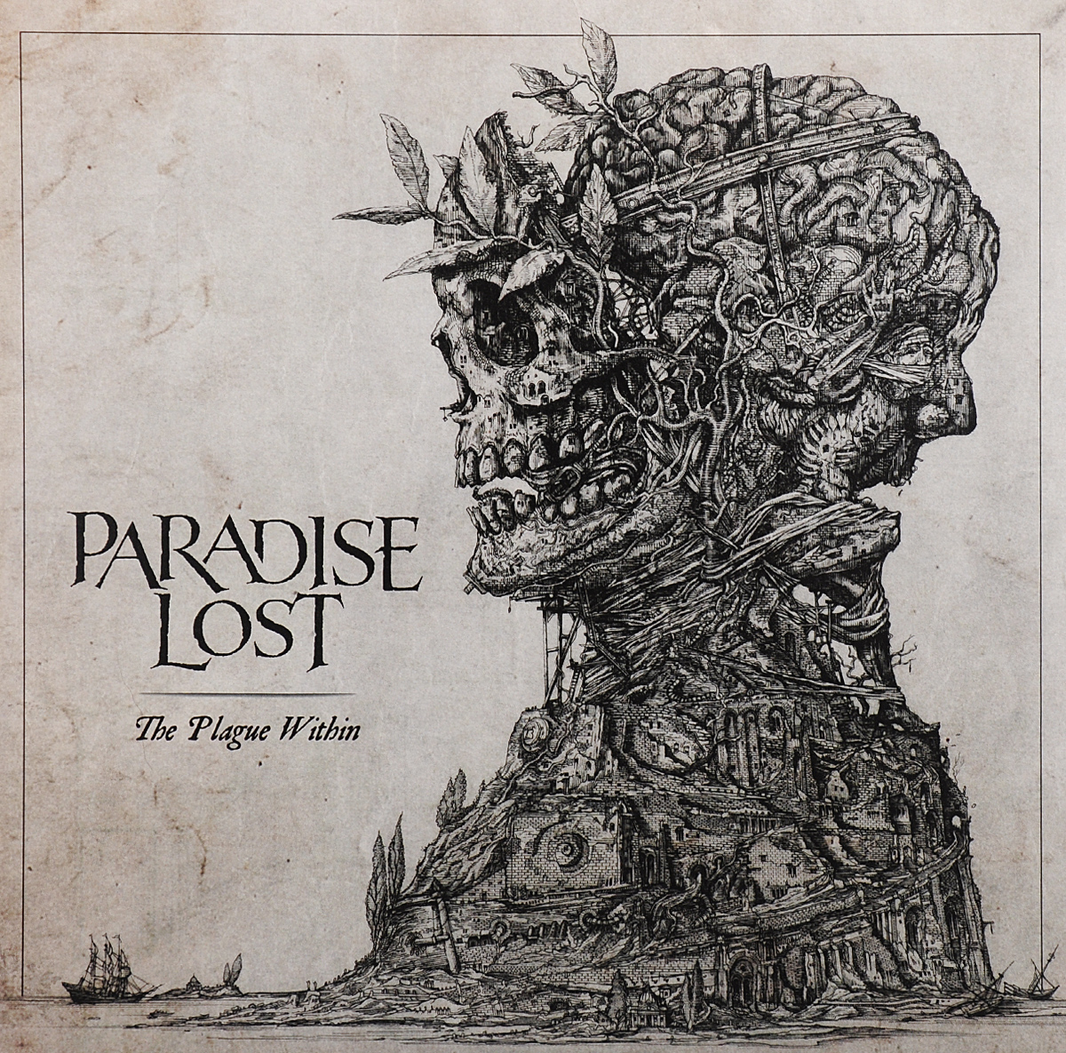 Paradise Lost Paradise Lost. The Plague Within (LP) купить