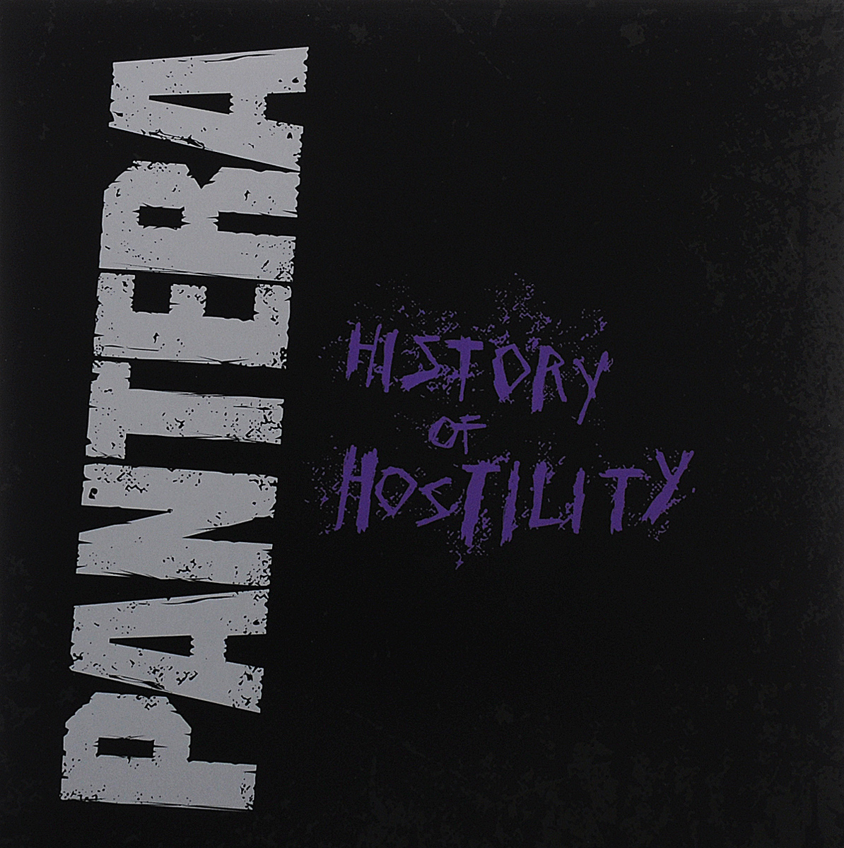 Pantera Pantera. History Of Hostility (LP) little history of british gardening