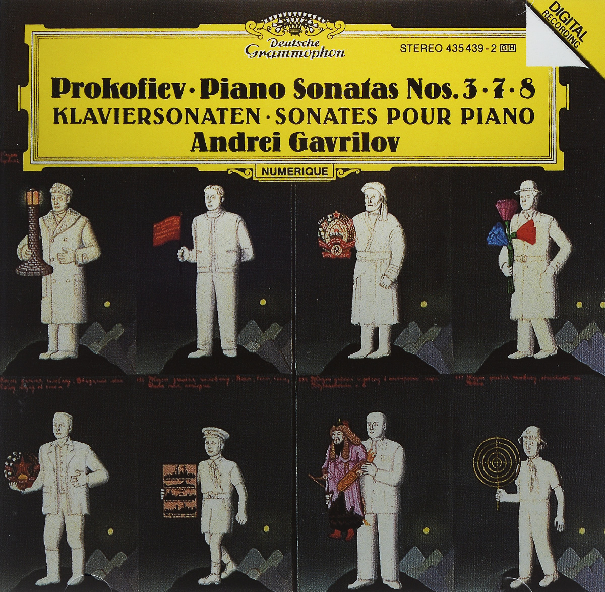 Andrei Gavrilov. Prokofiev. Piano Sonatas Nos. 3 / 7 / 8