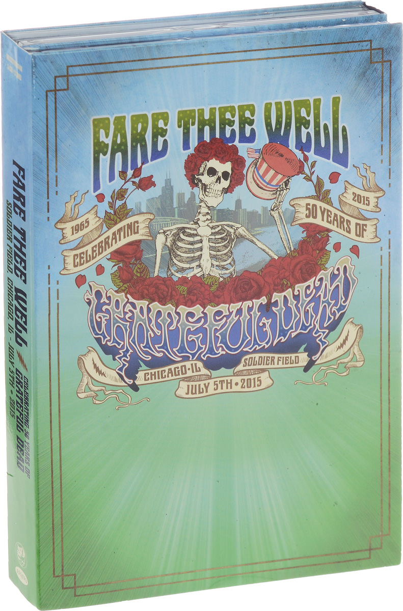The Grateful Dead Grateful Dead. Fare Thee Well Celebrating 50 Years Of Grateful Dead (3 CD + 2 DVD) grateful dead grateful dead the best of the grateful dead live volume 1 1969 1977 2 lp 180 gr