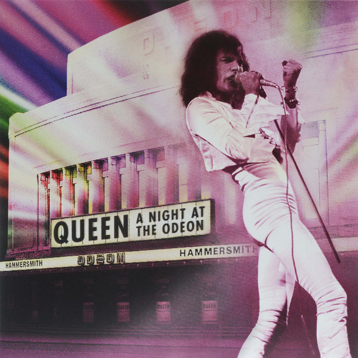 Queen Queen. A Night At The Odeon (2 LP) queen queen a night at the odeon anniversary limited edition cd lp dvd blu ray