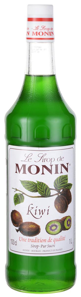 Monin Киви сироп, 1 л0120710Родом из Китая, киви широко культивируется в Новой Зеландии. Это и дало название плодам киви, за их схожесть с бесхвостыми и длинноклювыми птицами, которые являются символом страны. Никакой другой фрукт не предлагает более интенсивный изумрудно-зеленый цвет, чем киви. Его мякоть почти сливочная в последовательности с бодрящим вкусом напоминающая о землянике, дынях и бананах, все же с его собственным уникальным сладким, немного едким ароматом. Попробуйте сироп Monin Киви, чтобы насладиться уникальным вкусом киви и красивым зеленым цветом в напитках.ВКУСЗапах спелых киви, сочный и освежающий вкус киви.ПРИМЕНЕНИЕКоктейли, фруктовые пунши, газированные напитки и лимонады.Сиропы Monin выпускает одноименная французская марка, которая известна как лидирующий производитель алкогольных и безалкогольных сиропов в мире. В 1912 году во французском городке Бурже девятнадцатилетний предприниматель Джордж Монин основал собственную компанию, которая специализировалась на производстве вин, ликеров и сиропов. Место для завода было выбрано не случайно: город Бурже находился в непосредственной близости от крупных сельскохозяйственных районов - главных поставщиков свежих ягод и фруктов. Производство сиропов стало ключевым направлением деятельности компании Monin только в 1945 году, когда пост главы предприятия занял потомок основателя - Пол Монин. Именно под его руководством ассортимент марки пополнился разнообразными сиропами из натуральных ингредиентов, которые молниеносно заслужили блестящую репутацию в кругу поклонников кофейных напитков и коктейлей. По сей день высокое качество остается базовым принципом деятельности французской марки. Сиропы Монин создаются исключительно из натуральных ингредиентов по уникальным технологиям, позволяющим сохранять в готовом продукте все полезные свойства природного сырья.Эксперты всего мира сходятся во мнении, что сиропы Monin - это законодатели мод в миксологии. Ассортимент французской марки на сегодняшний день является