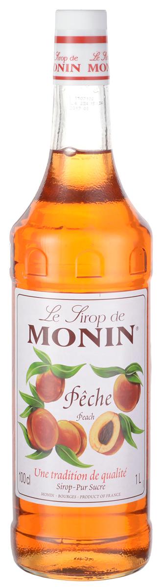 Monin Персик сироп, 1 л0120710Персики, как полагают, родом из Китая. Каждый год летний сезон сигнализирует о прибытии сочных, сладких персиков. Узнайте, как сироп Monin Персик может обогатить ваши напитки фруктовым, восхитительным ароматом!Сиропы Monin выпускает одноименная французская марка, которая известна как лидирующий производитель алкогольных и безалкогольных сиропов в мире. В 1912 году во французском городке Бурже девятнадцатилетний предприниматель Джордж Монин основал собственную компанию, которая специализировалась на производстве вин, ликеров и сиропов. Место для завода было выбрано не случайно: город Бурже находился в непосредственной близости от крупных сельскохозяйственных районов - главных поставщиков свежих ягод и фруктов.Производство сиропов стало ключевым направлением деятельности компании Monin только в 1945 году, когда пост главы предприятия занял потомок основателя - Пол Монин. Именно под его руководством ассортимент марки пополнился разнообразными сиропами из натуральных ингредиентов, которые молниеносно заслужили блестящую репутацию в кругу поклонников кофейных напитков и коктейлей. По сей день высокое качество остается базовым принципом деятельности французской марки. Сиропы Монин создаются исключительно из натуральных ингредиентов по уникальным технологиям, позволяющим сохранять в готовом продукте все полезные свойства природного сырья.Эксперты всего мира сходятся во мнении, что сиропы Monin - это законодатели мод в миксологии. Ассортимент французской марки на сегодняшний день является самым широким и насчитывает полторы сотни уникальных вкусовых решений. В каталоге компании можно найти как классические вкусы для кофейных напитков (шоколадный, ванильный, ореховый и другие сиропы), так и весьма экзотические варианты (сиропы со вкусом кокоса, зеленой мяты, тирамису, блю курасао, аниса, грейпфрута, пина колады и так далее). Отметим, что все сиропы обладают мягкими, деликатными вкусовыми и ароматическими характеристиками, что говорит о натуральн