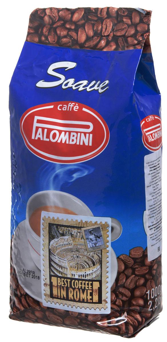 Palombini Soave кофе в зернах, 1 кг0120710Натуральный жареный кофе высшего сорта Palombini Soave в зернах. Исключительный аромат и запоминающийся вкус. Рекомендуется для приготовления в домашних условиях. Состав смеси: 75% арабика, 25% робуста.