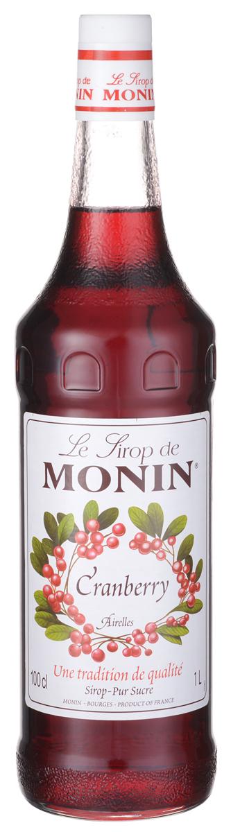 Monin Клюква сироп, 1 л0120710Клюква используется в широком диапазоне пищевых рецептов, имеет сладкий и терпкий вкус. Сироп Monin Клюква предлагает идеальный баланс истинной кислотности и сладости спелой клюквы.Сироп Monin Клюква - это самый простой способ добавить вкус клюквы, которое послужит дополнением вашим напиткам.Сиропы Monin выпускает одноименная французская марка, которая известна как лидирующий производитель алкогольных и безалкогольных сиропов в мире. В 1912 году во французском городке Бурже девятнадцатилетний предприниматель Джордж Монин основал собственную компанию, которая специализировалась на производстве вин, ликеров и сиропов. Место для завода было выбрано не случайно: город Бурже находился в непосредственной близости от крупных сельскохозяйственных районов - главных поставщиков свежих ягод и фруктов.Производство сиропов стало ключевым направлением деятельности компании Monin только в 1945 году, когда пост главы предприятия занял потомок основателя - Пол Монин. Именно под его руководством ассортимент марки пополнился разнообразными сиропами из натуральных ингредиентов, которые молниеносно заслужили блестящую репутацию в кругу поклонников кофейных напитков и коктейлей. По сей день высокое качество остается базовым принципом деятельности французской марки. Сиропы Монин создаются исключительно из натуральных ингредиентов по уникальным технологиям, позволяющим сохранять в готовом продукте все полезные свойства природного сырья.Эксперты всего мира сходятся во мнении, что сиропы Monin - это законодатели мод в миксологии. Ассортимент французской марки на сегодняшний день является самым широким и насчитывает полторы сотни уникальных вкусовых решений. В каталоге компании можно найти как классические вкусы для кофейных напитков (шоколадный, ванильный, ореховый и другие сиропы), так и весьма экзотические варианты (сиропы со вкусом кокоса, зеленой мяты, тирамису, блю курасао, аниса, грейпфрута, пина колады и так далее). Отметим, что все сиропы обладают мягким