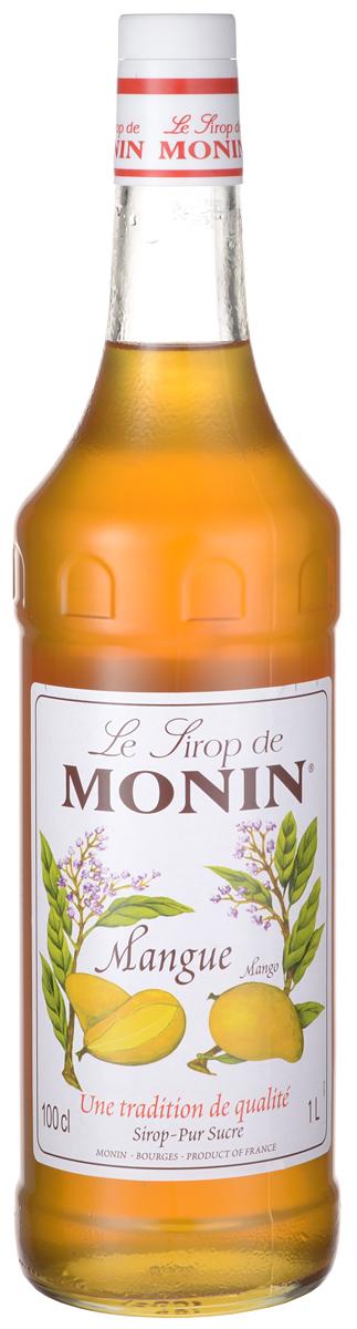 Monin Манго сироп, 1 л дынный сироп monin стекло 1 л