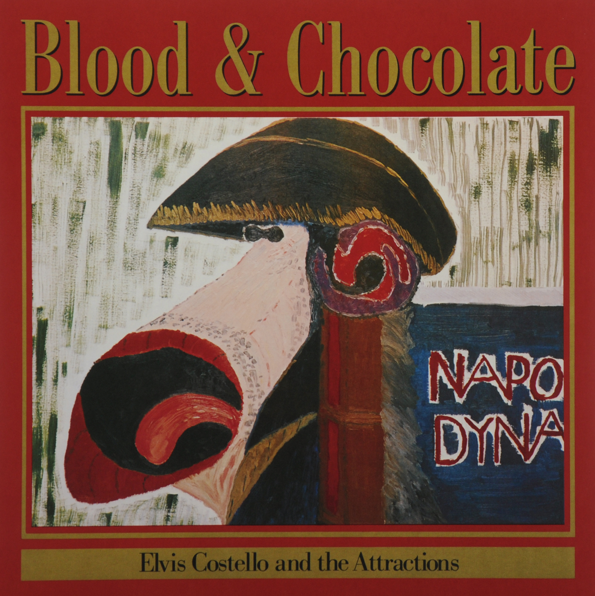 Элвис Костелло,The Attractions Elvis Costello And The Attractions. Blood & Chocolate (LP) элвис костелло elvis costello taking liberties lp