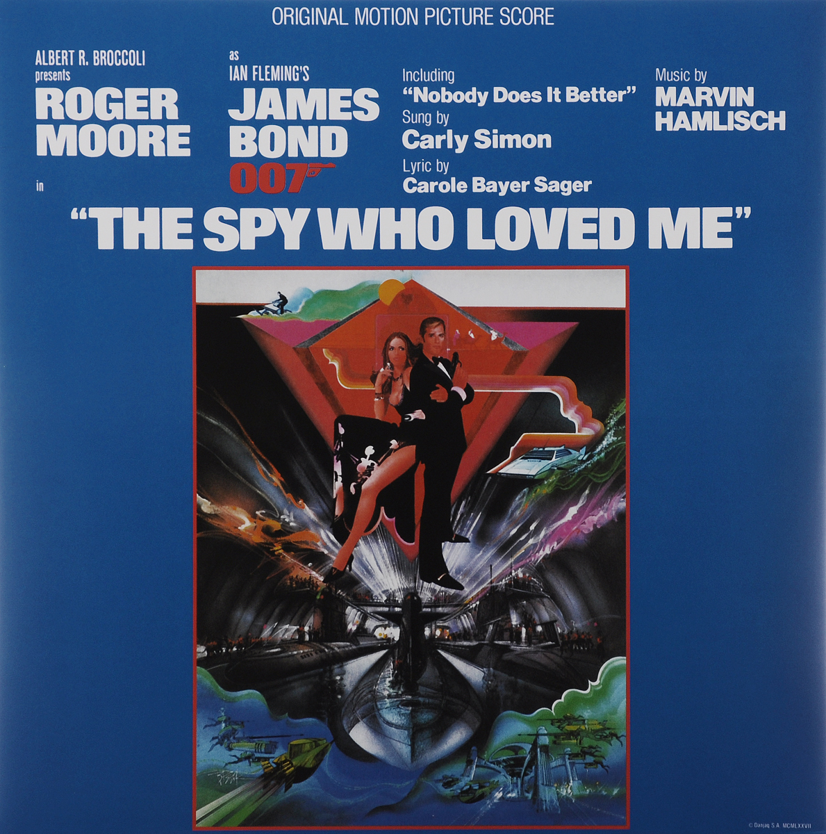 The Spy Who Loved Me. Original Motion Picture Score (LP) 8 mile music from and inspired by the motion picture 2 lp