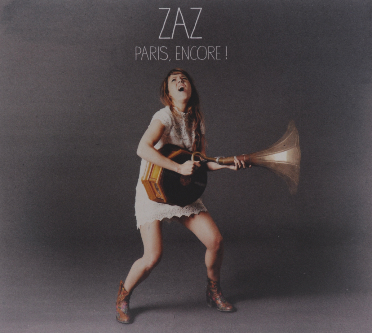 Zaz Zaz. Paris, Encore! (CD + DVD) zaz zaz paris limited edition cd dvd