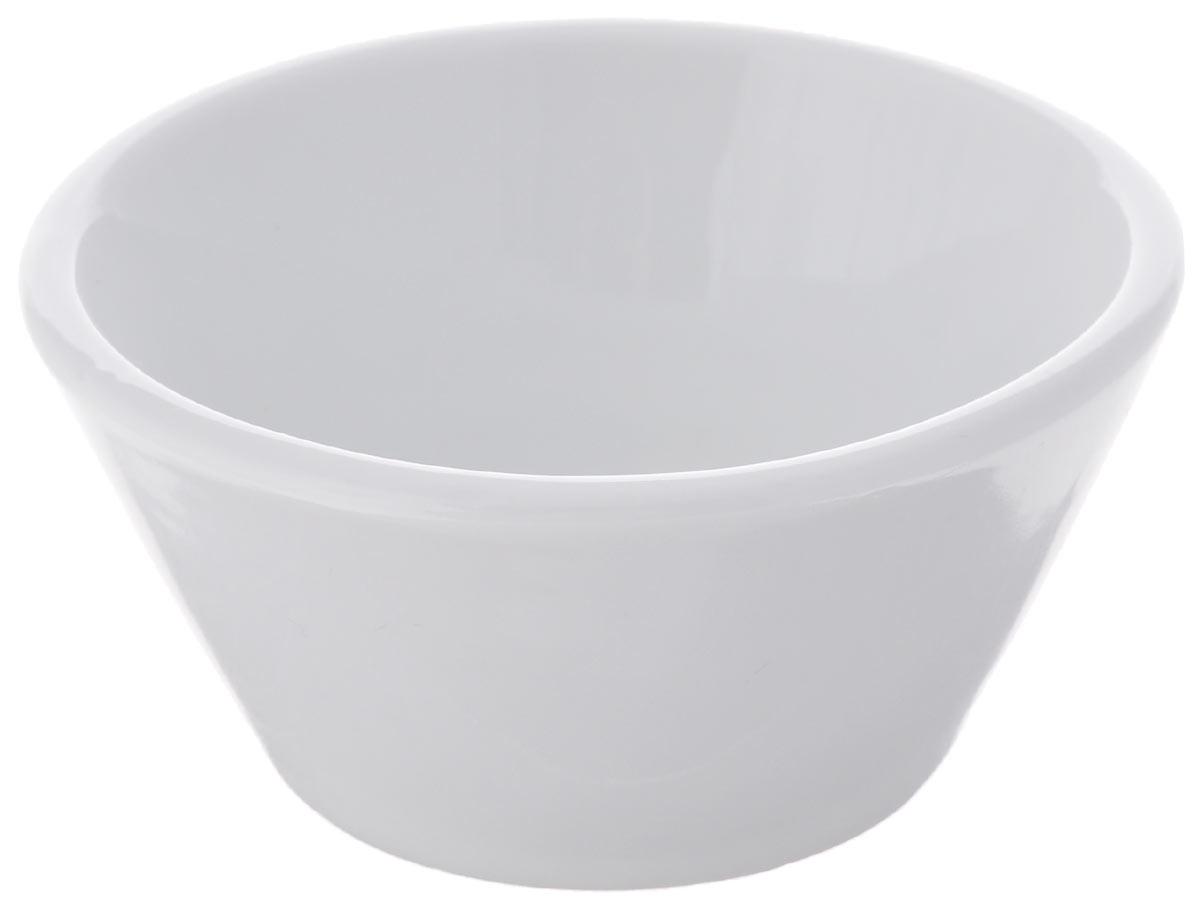 Миска Tescoma, цвет: белый, диаметр 8 см115510Круглая миска Tescoma прекрасно подойдет для вашей кухни. Она выполнена из первоклассного фарфора. Миска предназначена для красивой сервировки различных блюд.Изделие можно мыть в посудомоечной машине.Диаметр миски по верхнему краю: 8 см.Высота миски: 4 см.