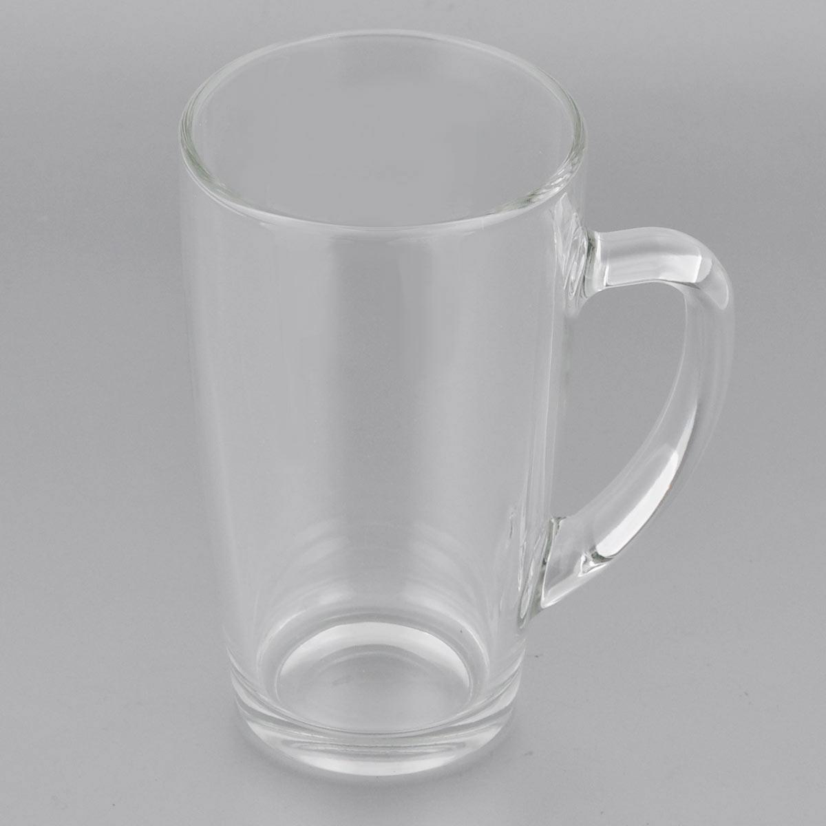 Кружка Luminarc С добрым утром, цвет: прозрачный, 400 мл115510Кружка Luminarc С добрым утром изготовлена из упрочнённого стекла. Такая кружка прекрасно подойдет для горячих (выдерживает температуру от 0°С до 110°С) и холодных напитков. Она дополнит коллекцию вашей кухонной посуды и будет служить долгие годы. Можно использовать в посудомоечной машине и СВЧ. Объем кружки: 400 мл. Диаметр кружки (по верхнему краю): 8 см. Высота стенки кружки: 13 см.