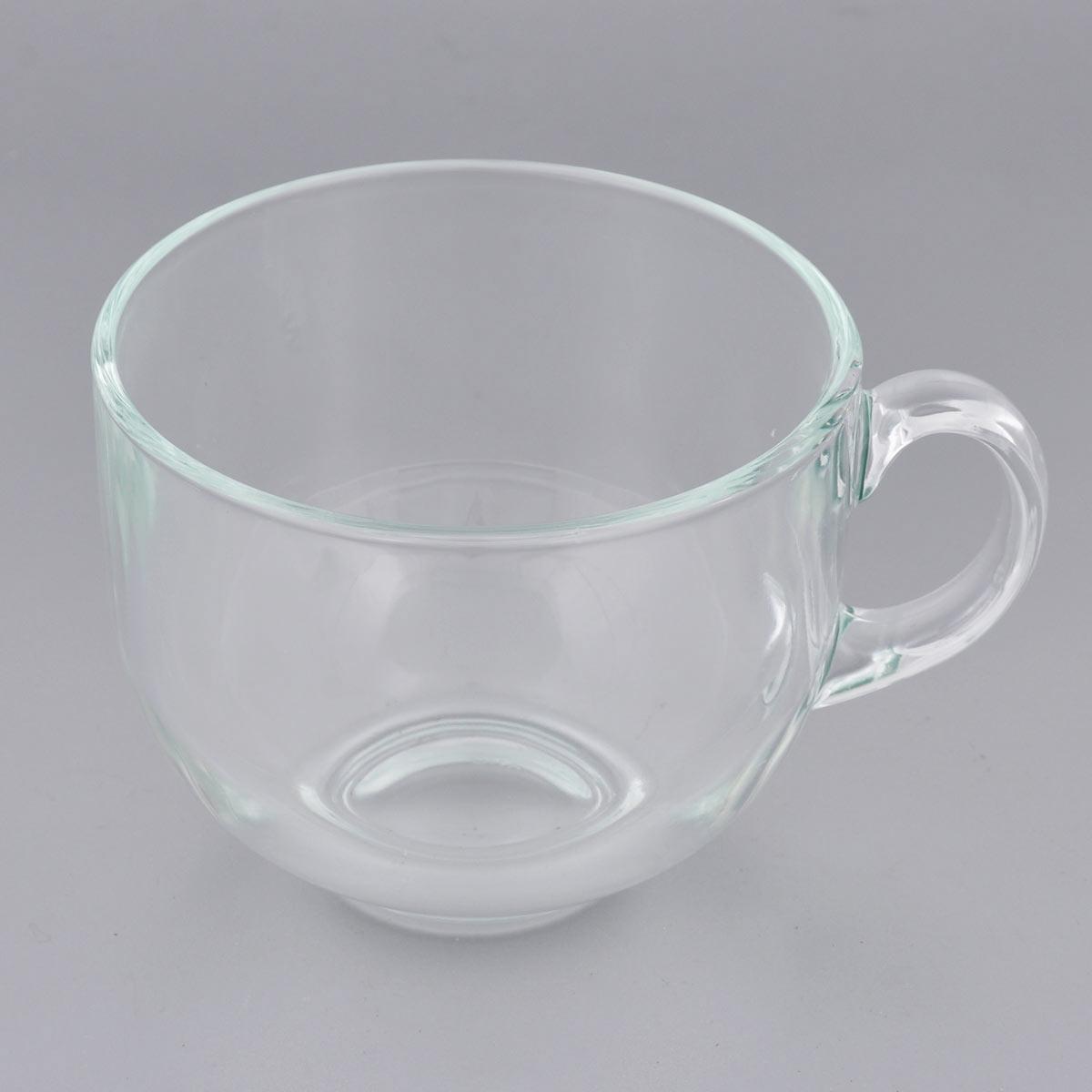 Кружка Luminarc Джамбо, цвет: прозрачный, 500 мл24463Кружка Luminarc Джамбо изготовлена из упрочнённого стекла. Такая кружка прекрасно подойдет для горячих и холодных напитков. Она дополнит коллекцию вашей кухонной посуды и будет служить долгие годы. Можно использовать в посудомоечной машине и СВЧ. Объем кружки: 500 мл. Диаметр кружки (по верхнему краю): 10,5 см. Высота стенки кружки: 8,5 см.