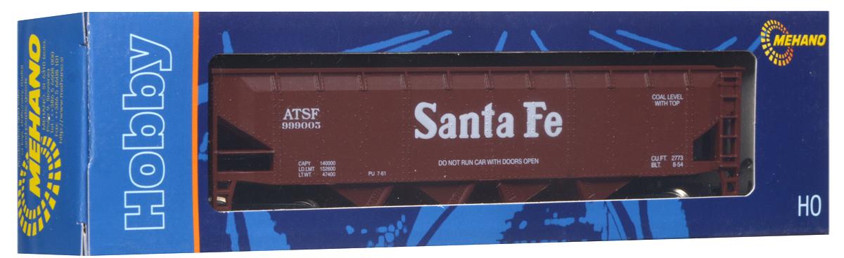 Mehano Саморазгружающийся бункерный грузовой вагон Santa Fe