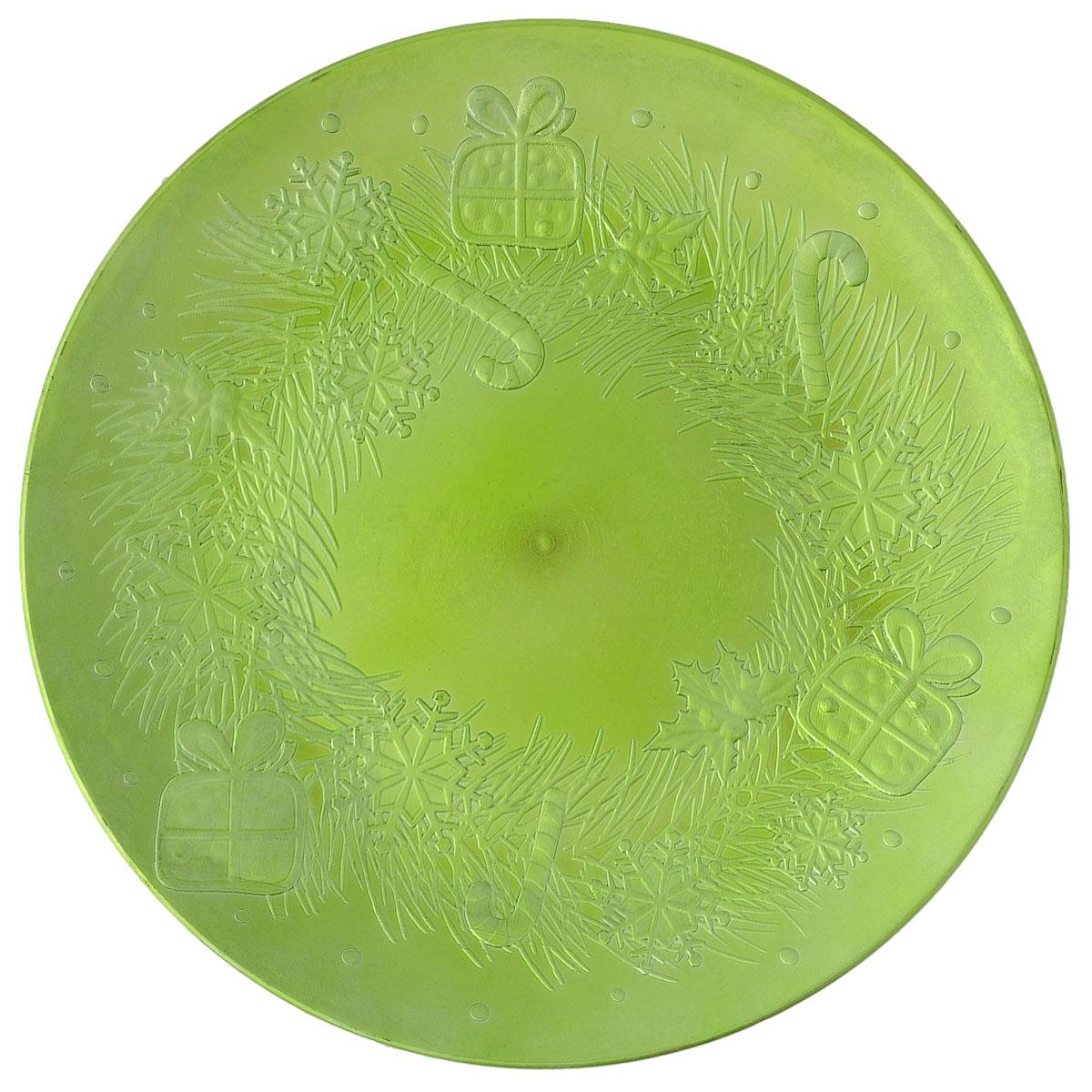 Блюдо Lillo Новогоднее, цвет: светло-зеленый, диаметр 33 см115510Блюдо Lillo Новогоднее, выполненное из высококачественного пластика, оформлено объемнымиизображениями в виде подарков и снежинок.Блюдо Lillo Новогоднее доставит истинное удовольствие ценителям прекрасного. Яркий дизайн, несомненно придется вам по вкусу. Диаметр: 33 см. Высота стенки: 2 см.