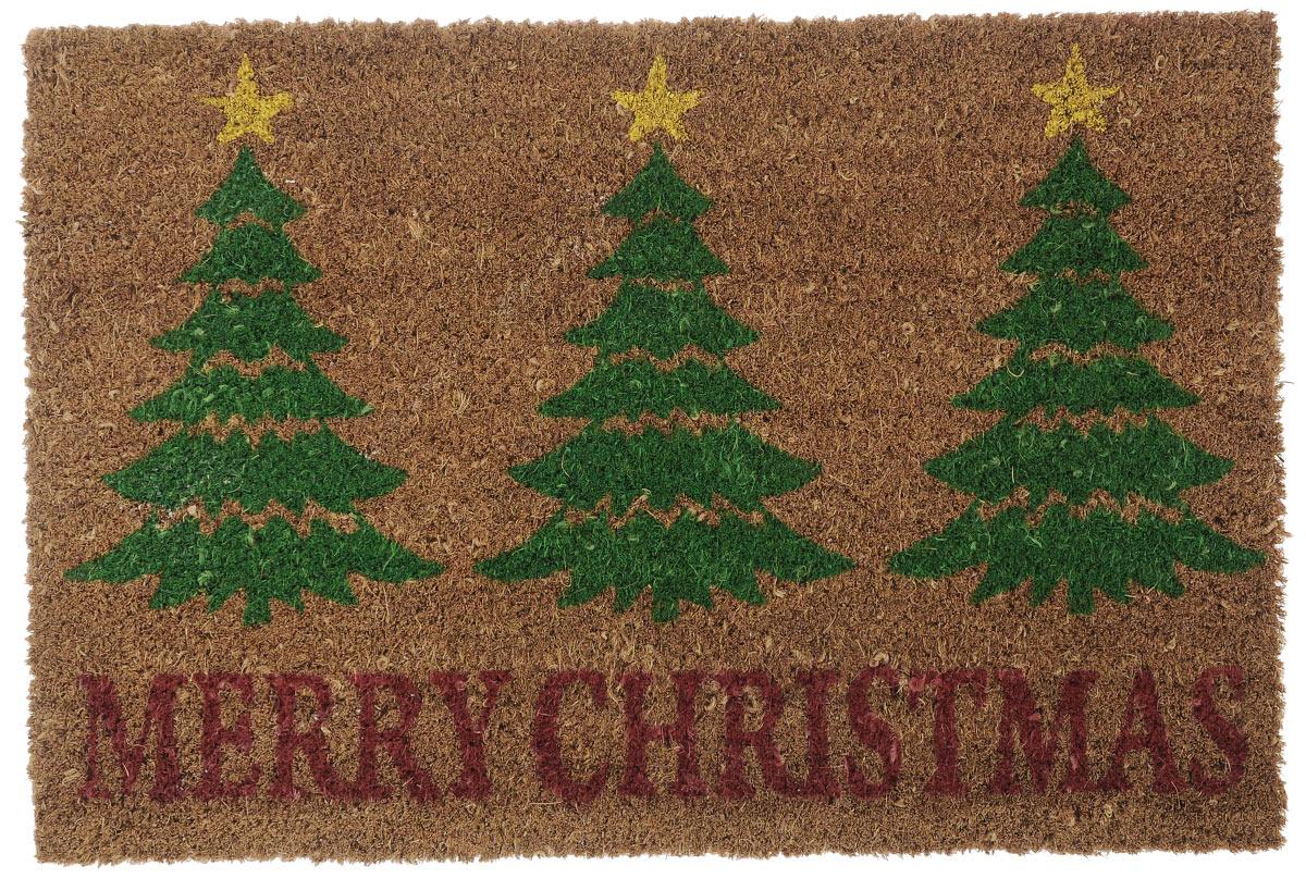 Коврик придверный Gardman Merry Christmas, 40 см х 60 см коврик придверный gardman stag countryside 40 см х 60 см