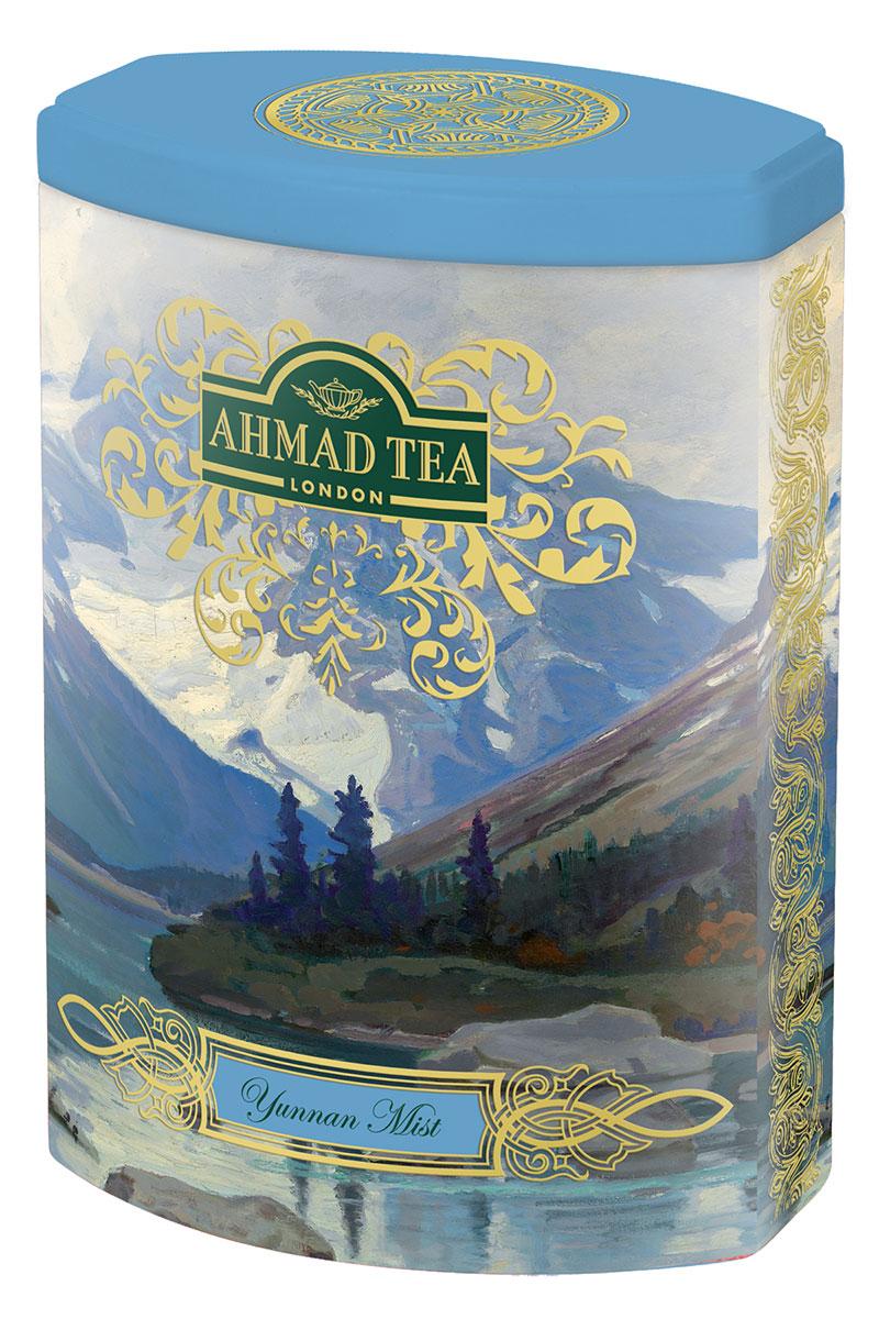 Ahmad Tea Yunnan Mist черный листовой чай, 100 г (ж/б) 2006 tu lin feng huang bianxiao zhuan brick 250g 5 1250g yunnan organic pu er raw tea sheng cha weight loss slim beauty