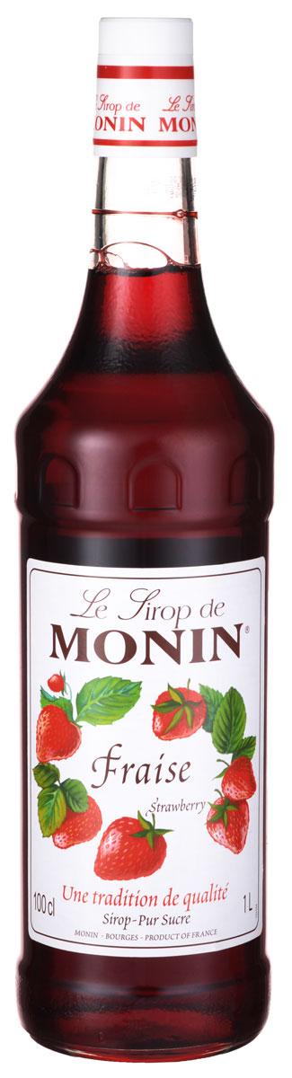 Monin Клубника сироп, 1 лSMONN0-000033Клубника является первым плодом весны. Все с нетерпением ждут эти сладкие и восхитительные ягоды. Эта ягода является одной из распространенных в домашнем саду из-за непринужденности роста и популярности за столом. Восхитительную клубнику едят свежей или используют в приготовлении соков, десертов, джемов, вина и сиропов. Наслаждайтесь восхитительным вкусом сиропа Клубника в напитках от Monin.Сиропы Monin выпускает одноименная французская марка, которая известна как лидирующий производитель алкогольных и безалкогольных сиропов в мире. В 1912 году во французском городке Бурже девятнадцатилетний предприниматель Джордж Монин основал собственную компанию, которая специализировалась на производстве вин, ликеров и сиропов. Место для завода было выбрано не случайно: город Бурже находился в непосредственной близости от крупных сельскохозяйственных районов - главных поставщиков свежих ягод и фруктов.Производство сиропов стало ключевым направлением деятельности компании Monin только в 1945 году, когда пост главы предприятия занял потомок основателя - Пол Монин. Именно под его руководством ассортимент марки пополнился разнообразными сиропами из натуральных ингредиентов, которые молниеносно заслужили блестящую репутацию в кругу поклонников кофейных напитков и коктейлей. По сей день высокое качество остается базовым принципом деятельности французской марки. Сиропы Монин создаются исключительно из натуральных ингредиентов по уникальным технологиям, позволяющим сохранять в готовом продукте все полезные свойства природного сырья.Эксперты всего мира сходятся во мнении, что сиропы Monin - это законодатели мод в миксологии. Ассортимент французской марки на сегодняшний день является самым широким и насчитывает полторы сотни уникальных вкусовых решений. В каталоге компании можно найти как классические вкусы для кофейных напитков (шоколадный, ванильный, ореховый и другие сиропы), так и весьма экзотические варианты (сиропы со вкусом кокоса, зеленой мяты