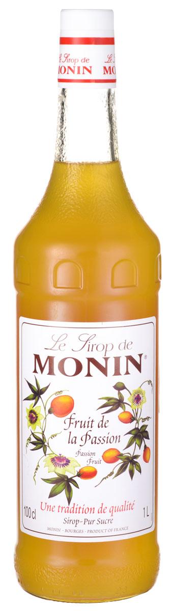 Monin Маракуя сироп, 1 л0120710Маракуйя - обладает одним из наиболее интенсивных и соблазнительных ароматов из всех фруктов. Культивируется во многих тропических и умеренных регионах в Северной и Южной Америке, Северной Африке и Австралии. Этот фрукт имеет очень характерный экзотические вкус и ярко-оранжевый цвет. Используйте сироп Monin Маракуйя для придания спелого, сочного тропического вкуса.Экзотический букет к вашим коктейлям и безалкогольным напиткам.Сиропы Monin выпускает одноименная французская марка, которая известна как лидирующий производитель алкогольных и безалкогольных сиропов в мире. В 1912 году во французском городке Бурже девятнадцатилетний предприниматель Джордж Монин основал собственную компанию, которая специализировалась на производстве вин, ликеров и сиропов. Место для завода было выбрано не случайно: город Бурже находился в непосредственной близости от крупных сельскохозяйственных районов - главных поставщиков свежих ягод и фруктов.Производство сиропов стало ключевым направлением деятельности компании Monin только в 1945 году, когда пост главы предприятия занял потомок основателя - Пол Монин. Именно под его руководством ассортимент марки пополнился разнообразными сиропами из натуральных ингредиентов, которые молниеносно заслужили блестящую репутацию в кругу поклонников кофейных напитков и коктейлей. По сей день высокое качество остается базовым принципом деятельности французской марки. Сиропы Монин создаются исключительно из натуральных ингредиентов по уникальным технологиям, позволяющим сохранять в готовом продукте все полезные свойства природного сырья.Эксперты всего мира сходятся во мнении, что сиропы Monin - это законодатели мод в миксологии. Ассортимент французской марки на сегодняшний день является самым широким и насчитывает полторы сотни уникальных вкусовых решений. В каталоге компании можно найти как классические вкусы для кофейных напитков (шоколадный, ванильный, ореховый и другие сиропы), так и весьма экзотические варианты (сиропы с