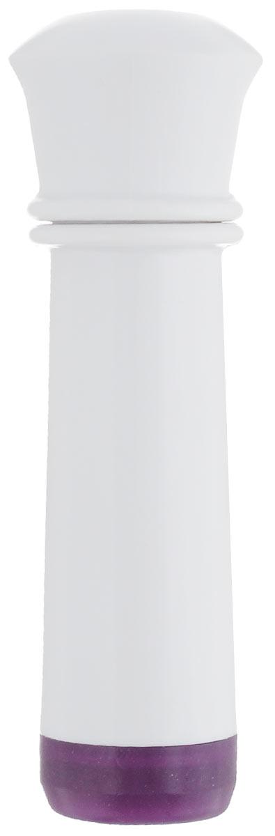 Насос вакуумный для контейнеров Microban, цвет: белый, фиолетовыйС680 салатовыйВакуумный насос Microban, изготовленный из высококачественного пластика с прорезиненными вставками, станет не заменимым помощником на вашей кухне. С помощью такого насоса одним простым движением можно быстро выкачать воздух из контейнера. Это обеспечит герметичность и дольше сохранит продукты свежими.