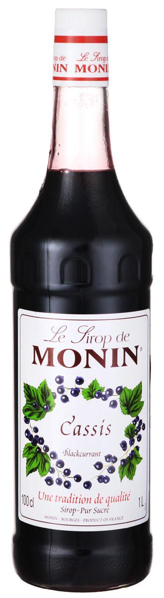 Monin Черная смородина сироп, 1 л0120710Ягода черной смородины обладает сладким, слегка горьковатым вкусом. Черная смородина традиционно используется в джемах, соках, ликерах, мороженом и сиропах. Попробуйте аромат напитков с естественным вкусом ягоды из сиропа Monin Черная смородина.Сиропы Monin выпускает одноименная французская марка, которая известна как лидирующий производитель алкогольных и безалкогольных сиропов в мире. В 1912 году во французском городке Бурже девятнадцатилетний предприниматель Джордж Монин основал собственную компанию, которая специализировалась на производстве вин, ликеров и сиропов. Место для завода было выбрано не случайно: город Бурже находился в непосредственной близости от крупных сельскохозяйственных районов - главных поставщиков свежих ягод и фруктов.Производство сиропов стало ключевым направлением деятельности компании Monin только в 1945 году, когда пост главы предприятия занял потомок основателя - Пол Монин. Именно под его руководством ассортимент марки пополнился разнообразными сиропами из натуральных ингредиентов, которые молниеносно заслужили блестящую репутацию в кругу поклонников кофейных напитков и коктейлей. По сей день высокое качество остается базовым принципом деятельности французской марки. Сиропы Монин создаются исключительно из натуральных ингредиентов по уникальным технологиям, позволяющим сохранять в готовом продукте все полезные свойства природного сырья.Эксперты всего мира сходятся во мнении, что сиропы Monin - это законодатели мод в миксологии. Ассортимент французской марки на сегодняшний день является самым широким и насчитывает полторы сотни уникальных вкусовых решений. В каталоге компании можно найти как классические вкусы для кофейных напитков (шоколадный, ванильный, ореховый и другие сиропы), так и весьма экзотические варианты (сиропы со вкусом кокоса, зеленой мяты, тирамису, блю курасао, аниса, грейпфрута, пина колады и так далее). Отметим, что все сиропы обладают мягкими, деликатными вкусовыми и ароматическ