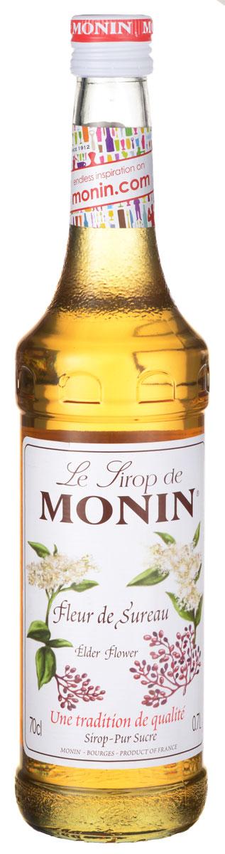 Monin Бузина сироп, 0,7 лSMONN0-000040Сильный цветочный аромат сиропа Monin Бузина позволит вам создавать блюда, горячие и прохладительные напитки, а также коктейли, которые не оставят равнодушными и удивят ваших гостей. ВКУС Сильный цветочный запах с медовыми примечаниями. Отличительной, терпкий и пикантный вкус. ПРИМЕНЕНИЕ Чай, сидры, коктейли. Сиропы Monin выпускает одноименная французская марка, которая известна как лидирующий производитель алкогольных и безалкогольных сиропов в мире. В 1912 году во французском городке Бурже девятнадцатилетний предприниматель Джордж Монин основал собственную компанию, которая специализировалась на производстве вин, ликеров и сиропов. Место для завода было выбрано не случайно: город Бурже находился в непосредственной близости от крупных сельскохозяйственных районов - главных поставщиков свежих ягод и фруктов.Производство сиропов стало ключевым направлением деятельности компании Monin только в 1945 году, когда пост главы предприятия занял потомок основателя - Пол Монин. Именно под его руководством ассортимент марки пополнился разнообразными сиропами из натуральных ингредиентов, которые молниеносно заслужили блестящую репутацию в кругу поклонников кофейных напитков и коктейлей. По сей день высокое качество остается базовым принципом деятельности французской марки. Сиропы Монин создаются исключительно из натуральных ингредиентов по уникальным технологиям, позволяющим сохранять в готовом продукте все полезные свойства природного сырья. Эксперты всего мира сходятся во мнении, что сиропы Monin - это законодатели мод в миксологии. Ассортимент французской марки на сегодняшний день является самым широким и насчитывает полторы сотни уникальных вкусовых решений. В каталоге компании можно найти как классические вкусы для кофейных напитков (шоколадный, ванильный, ореховый и другие сиропы), так и весьма экзотические варианты (сиропы со вкусом кокоса, зеленой мяты, тирамису, блю курасао, аниса, грейпфрута, пина колады и т. д.).