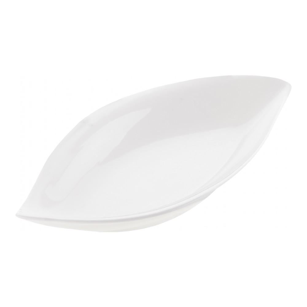Блюдо сервировочное Walmer Classic, цвет: белый, 18 х 10 х 3 смVT-1520(SR)Блюдо сервировочное Walmer Classic изготовлено из высококачественного фарфора. Блюдо - необходимая вещь при застолье. Вы можете использовать его для закусок, сырной нарезки, колбасных изделий и, конечно, горячих блюд. Изумительное сервировочное блюдо станет изысканным украшением вашего праздничного стола.