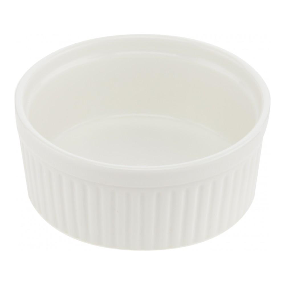 Горшок для запекания Walmer Classic, цвет: белый, диаметр 12 см391602Горшок для запекания Walmer Classic круглой формы изготовлен из высококачественного фарфора. Изделие подходит для запекания различных блюд и может быть использовано для подачи на стол.Такое изделие станет отличным дополнением к вашему кухонному инвентарю, а также украсит сервировку стола и подчеркнет прекрасный вкус хозяина. Можно использовать в микроволновой печи.Диаметр (по верхнему краю) : 12 см.Диаметр основания: 10,5 см. Высота стенок: 5 см.