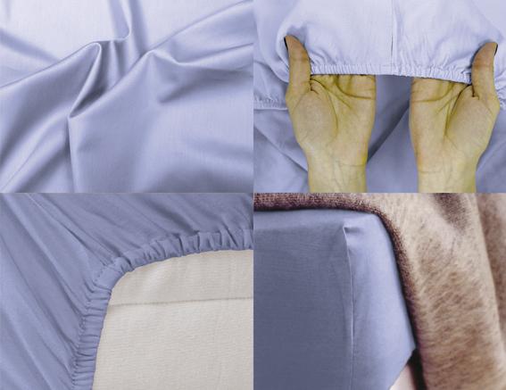 Простыня на резинке Хлопковый Край Premium, цвет: голубой, 208 см х 186 смS03301004Простыня на резинке Хлопковый Край Premium, изготовленная из сатина (100% хлопок), будет превосходно смотреться с любыми комплектами белья. Ткань приятная на ощупь, при этом она прочная, хорошо сохраняет форму и легко гладится. Простыня прошита резинкой, что обеспечивает более комфортный отдых, так как она прочно удерживается на матрасе и избавляет от необходимости часто ее поправлять. Простынь подходит для матраса размером 200 см х 180 см.