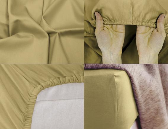 Простыня на резинке Хлопковый Край Premium, цвет: светло-коричневый, 208 см х 186 смPANTERA SPX-2RSПростыня на резинке Хлопковый Край Premium, изготовленная из сатина (100% хлопок), будет превосходно смотреться с любыми комплектами белья. Ткань приятная на ощупь, при этом она прочная, хорошо сохраняет форму и легко гладится. Простыня прошита резинкой, что обеспечивает более комфортный отдых, так как она прочно удерживается на матрасе и избавляет от необходимости часто ее поправлять. Простынь подходит для матраса размером 200 см х 180 см.