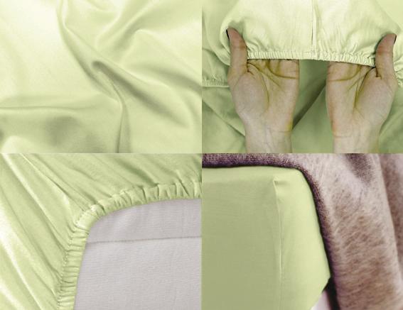 Простыня на резинке Хлопковый Край Premium, цвет: фисташковый, 208 см х 186 смES-412Простыня на резинке Хлопковый Край Premium, изготовленная из сатина (100% хлопок), будет превосходно смотреться с любыми комплектами белья. Ткань приятная на ощупь, при этом она прочная, хорошо сохраняет форму и легко гладится. Простыня прошита резинкой, что обеспечивает более комфортный отдых, так как она прочно удерживается на матрасе и избавляет от необходимости часто ее поправлять. Простынь подходит для матраса размером 200 см х 180 см.