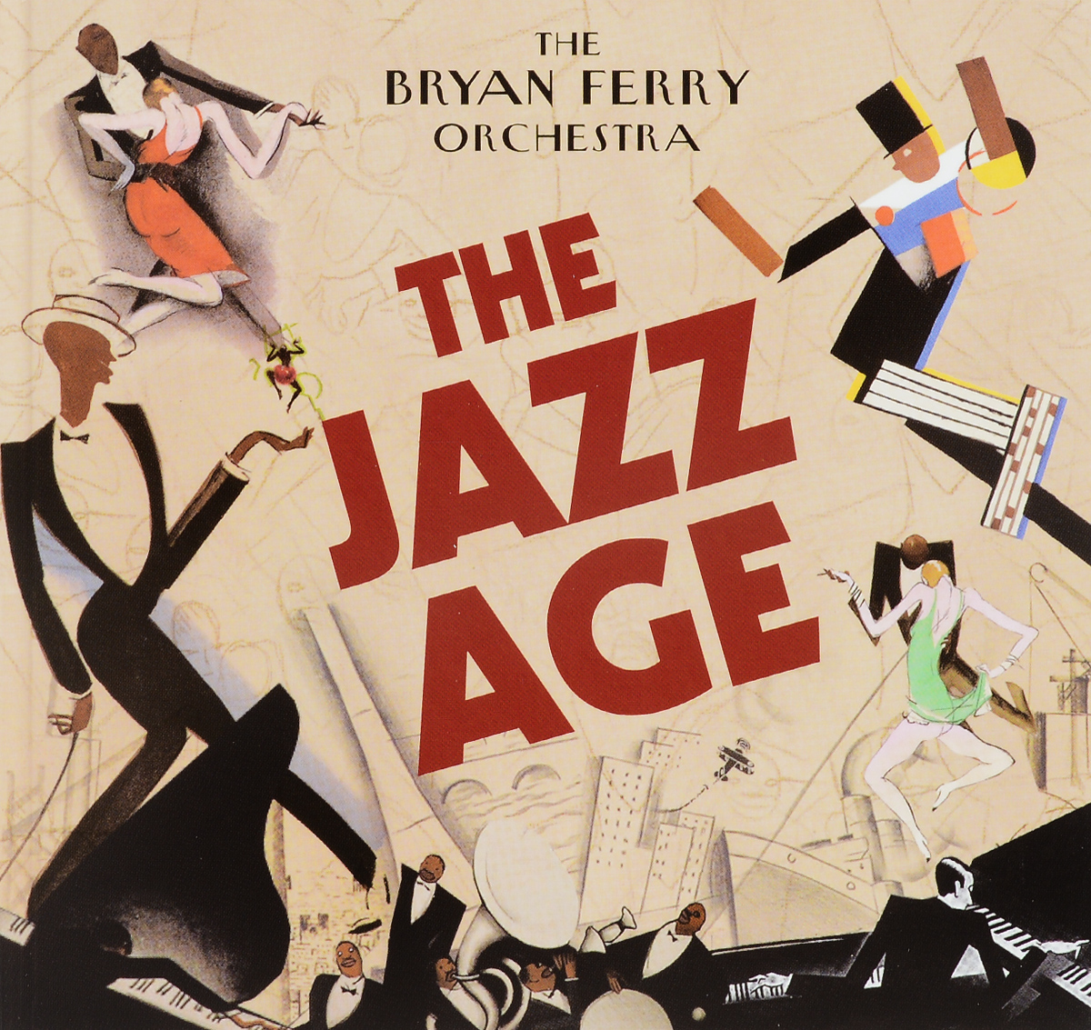 Брайан Ферри,The Bryan Ferry Orchestra The Bryan Ferry Orchestra. The Jazz Age bryan ferry let