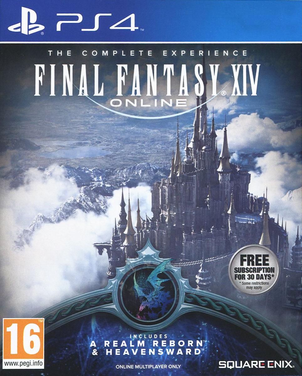 Final Fantasy XIV. Полное издание (A Realm Reborn + Heavensward) (PS4) в интернет магазине диск с игрой final fantasy viii