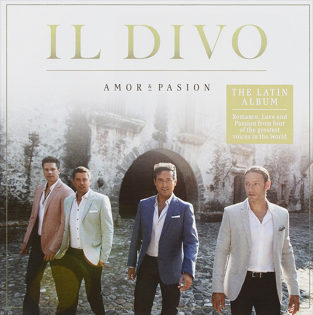 Il Divo Il Divo. Amor & Pasion il divo il divo an evening with il divo live in barcelona cd dvd