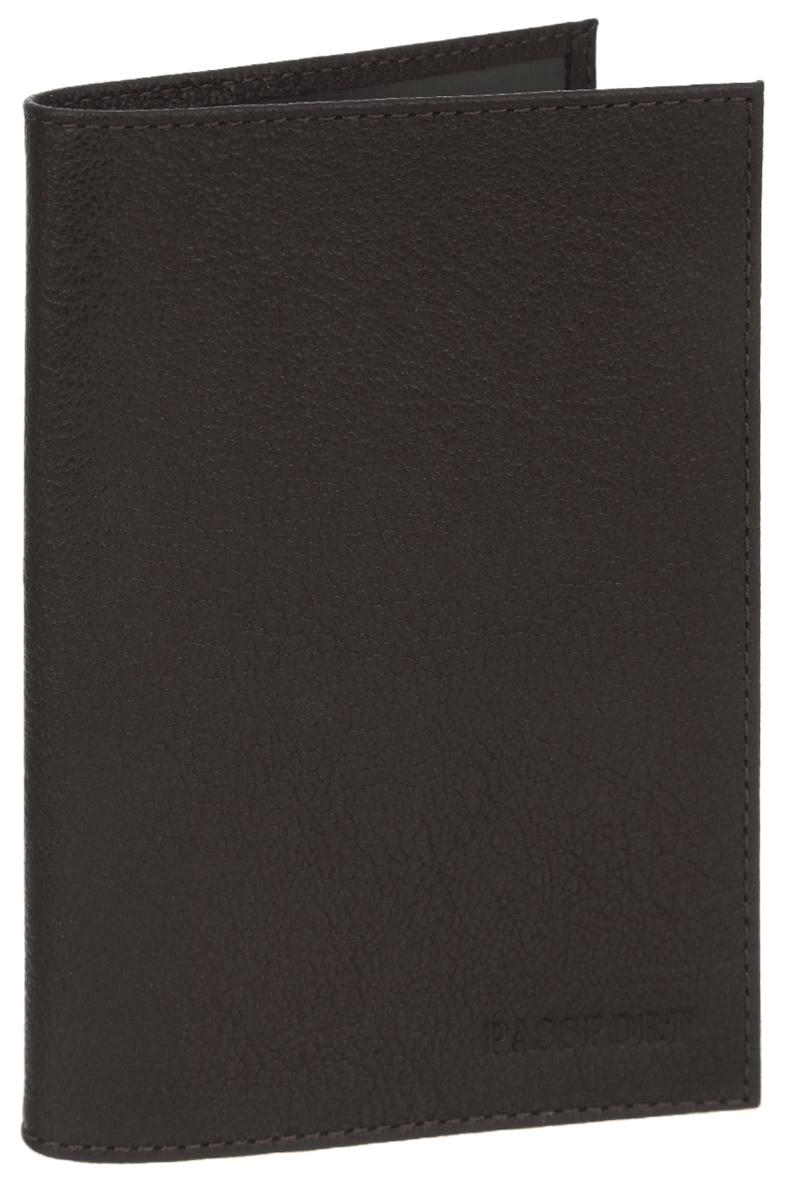 Обложка для паспорта мужская Fabula Largo, цвет: коричневый. O.1.LG3607869368974Обложка для паспорта Fabula Largo выполнена из натуральной кожи с зернистой фактурой и оформлена тиснением в виде символики бренда.Изделие раскладывается пополам. Внутри размещены два накладных кармашка из прозрачного ПВХ.Изделие поставляется в фирменной упаковке.Стильная обложка для паспорта Fabula Largo станет отличным подарком для человека, ценящего качественные и практичные вещи.