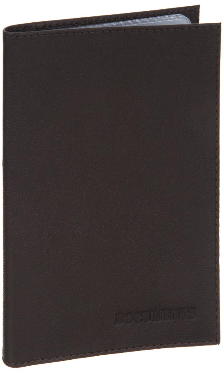 Обложка для автодокументов Fabula Largo, цвет: коричневый. BV.1.LGBV.10.TXF.черныйОбложка для автодокументов Fabula Largo выполнена из натуральной кожи с зернистой фактурой и оформлена тиснением с символикой бренда.Изделие раскладывается пополам. Внутри размещен вкладыш из прозрачного ПВХ, который содержит шесть файлов для документов.Изделие поставляется в фирменной упаковке.Стильная обложка для автодокументов Fabula Largo станет отличным подарком для человека, ценящего качественные и практичные вещи.