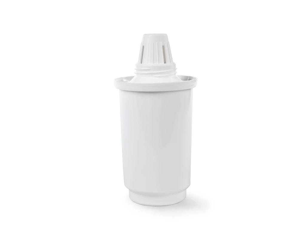 Сменный фильтрующий модуль Гейзер 502 для фильтра-кувшина21395599Сменный модуль 502 для Фильтров-кувшинов Гейзер. Комплексная доочистка жесткой воды мультикомпонентной загрузкой Каталон на основе ионообменных, сорбционных, гранулированных и волокнистых материалов в сочетании с лучшими марками кокосового активированного угля. В результате удаляются хлор, железо, тяжелые металлы, органические соединения и другие вредные примеси при сохранении полезных свойств и оптимального для человека минерального состава воды. Активное серебро в несмываемой форме в составе загрузки подавляет размножение задержанных бактерий. Сменные картриджи имеют одинаковые присоединительные размеры, взаимозаменяемы и могут устанавливаться в любой фильтр-кувшин Гейзер (а с использованием переходников — в кувшины других производителей). Преимущества модуля Гейзер 502: - Картридж 502 для жесткой воды имеет пять степеней очистки. - Материал Каталон удаляет жесткость, тяжелые металлы, органические и хлорорганические соединения, бактерии и вирусы. - Ионообменная смола для удаления растворенного железа. - Высококачественный кокосовый уголь удаляет хлор, органические и хлорорганические соединения; устраняет неприятные запахи и привкусы воды. - Серебро в металлической несмываемой форме для подавления жизнедеятельности болезнетворных бактерий. - Механический постфильтр предотвращает вынос фильтрующих материалов в очищенную воду. Теперь и кувшины Гейзер с новым картриджем Каталон защищают Вас от вирусов на 100%! Дополнительная информация: Температура очищаемой воды не более 40°С. Рекомендуемый срок службы 3 месяца. Ресурс 350 л.