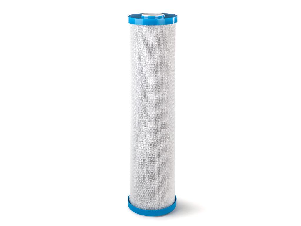 Картридж угольный CBC, пористость 10 мкм. Размер 20BBTKO 2403Картридж Гейзер СВС 10 - 20ВВ.Изготовлен из высококачественного кокосового активированного угля по технологии карбон-блок, что обеспечивает глубокую очистку воды от хлора, органических и хлорорганических соединений. Устраняет неприятные запахи и улучшает вкус воды. Сертифицирован американской ассоциацией NSF.Подходит для корпусов стандарта 20ВВ (Big Blue) любых производителей.Ресурс 50000 литров.