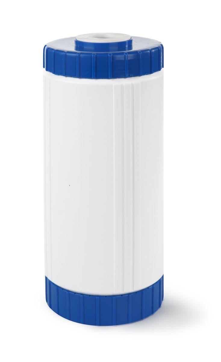 Сменный модуль для систем фильтрации холодной воды Гейзер БС 10 BBZM-10914Картридж Гейзер БС 10ВВ.Предназначен для удаления из воды избыточных солей жесткости на ионообменной смоле пищевого класса. Гарантирует отсутствие осадков и накипи на нагревательных.Способность к удалению солей жесткости ионообменной смолы восстанавливается после простой регенерации раствором поваренной соли.Подходит для корпусов стандарта 10ВВ (Big Blue) любых производителей.Общий ресурс с учетом регенерации до 8000 л. (при жесткости воды до 5 мг-экв/л).