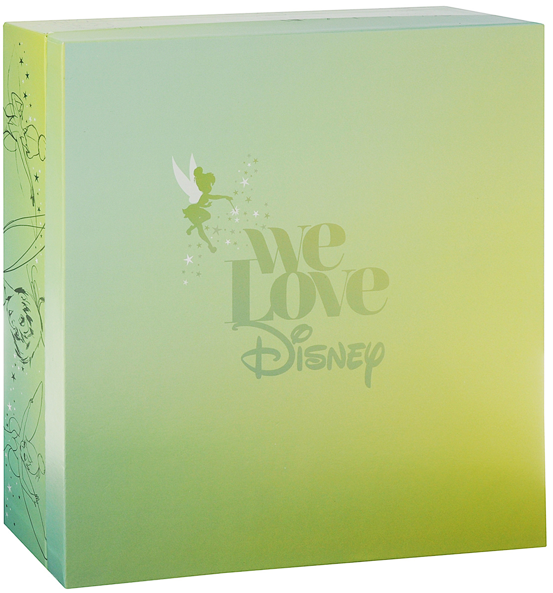 We Love Disney. Limited Edition (2 CD + DVD + 4 LP) [epcs love] art si scott eternal love limited edition poker card collection magic deck props