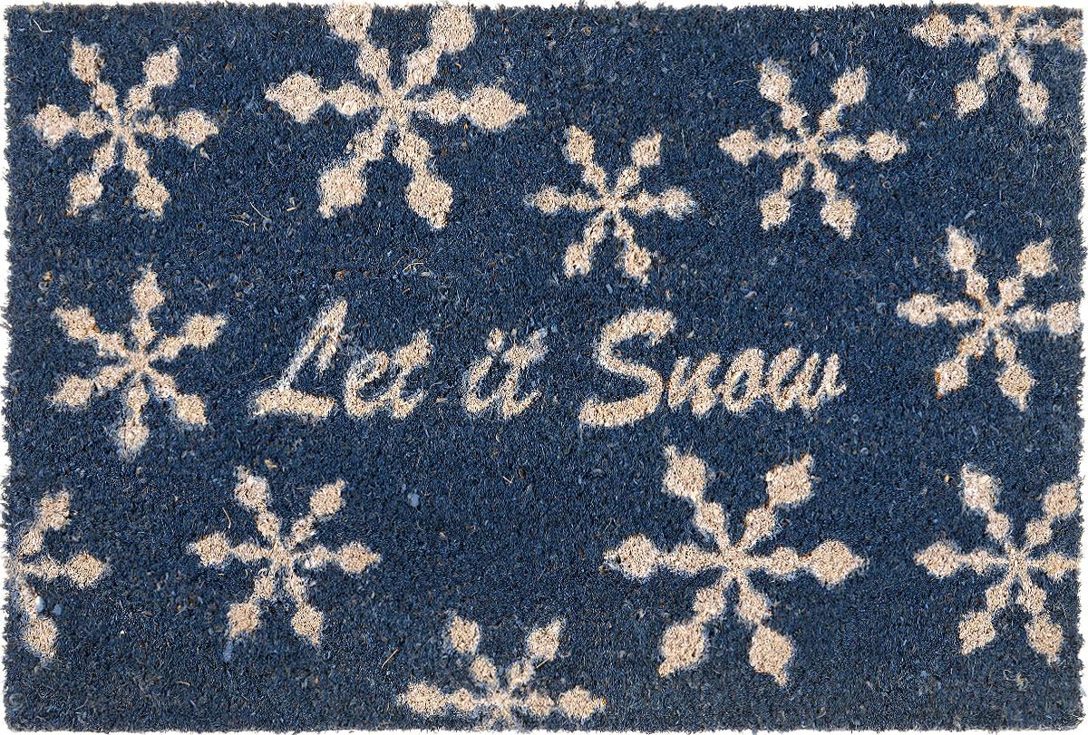 Коврик придверный Gardman Let it Snow, 40 см х 60 см let it snow three holiday romances