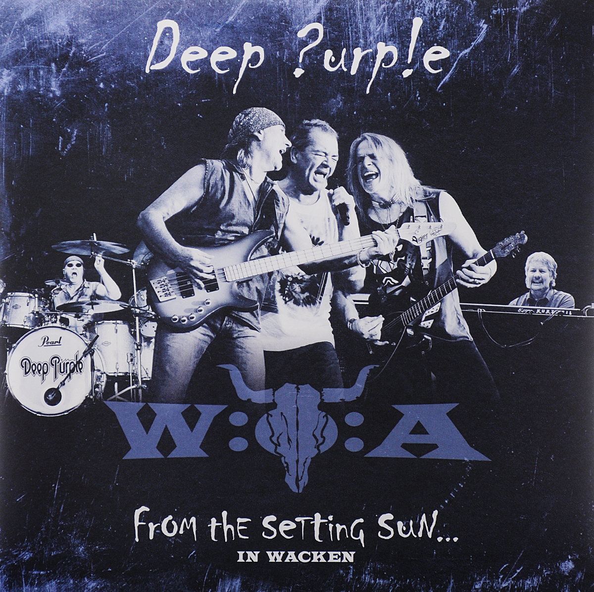Deep Purple Deep Purple. From the Setting Sun... In Wacken (3 LP) deep purple deep purple phoenix rising cd dvd