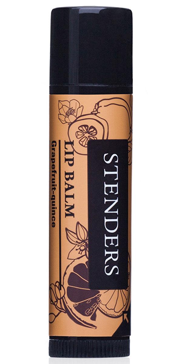 Stenders Бальзам для губ Грейпфрут-цидония, 4,8 гLIPB_GCЗащитный бальзам для губ подарит вашим губам длительное увлажнение. Содержит натуральное твердое масло ши, грейпфрутовое эфирное масло и экстракт цидонии, благодаря чему ваши губы станут приятно мягкими и гладкими, и будут благоухать жизнерадостным ароматом цитрусовых. Масло ши обладает свойством быстро впитываться в кожу, длительное время насыщая и защищая ее, делая кожу шелковисто-гладкой. Превосходно увлажняет, смягчает и восстанавливает кожу, а также задерживает ее старение.