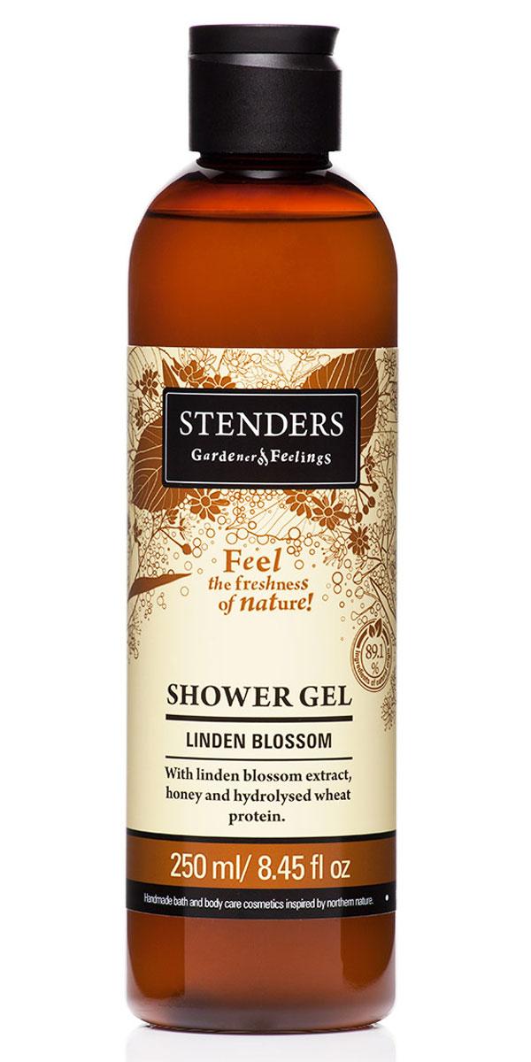 Stenders Гель для душа Липовый цвет, 250 млFS-00897Нежный гель для душа, наполненный природной свежестью, бережно очистит вашу кожу, даря ей гладкость и аромат. Для заботы о красоте кожи мы дополнили гель липовым экстрактом, мёдом и гидролизованным протеином пшеницы. Ощутите могущественную красоту природы в моменты, когда вас окутывает пышная пена и сладковатый аромат липы.Летними вечерами ничто не пахнет так сладко и пьяняще, как нежные цветы липы. Их экстракту присуще смягчающее действие, он поможет сохранить молодость вашей кожи. Кроме того, он богат марганцем и витамином С.